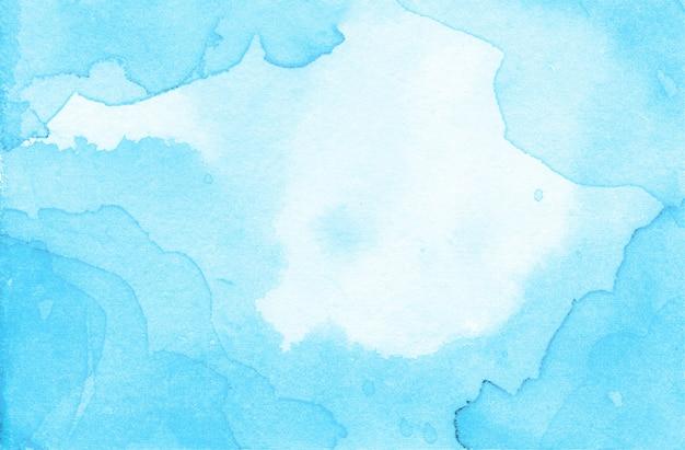 Fondo de textura abstracta acuarela azul