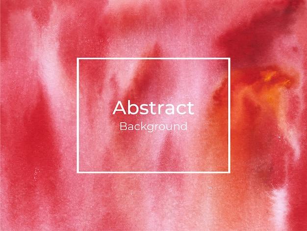 Fondo de textura abstracta acuarela roja