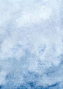 Fondo de textura abstracta azul con acuarela