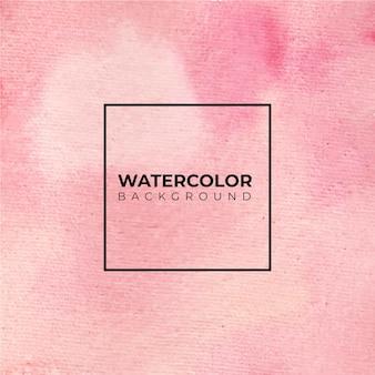 Fondo de textura de acuarela abstracta rosa, pintura de mano.