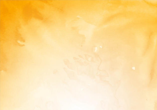 Fondo de textura de acuarela amarillo moderno