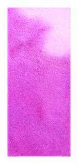 Fondo de textura de acuarela de banner rollup magenta