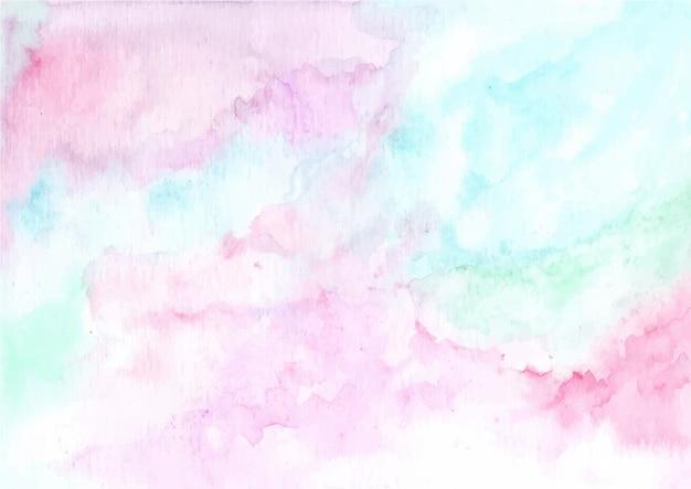 Fondo de textura de acuarela pastel abstracto
