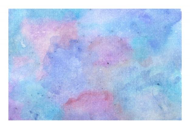 Fondo de textura acuarela pastel abstracto