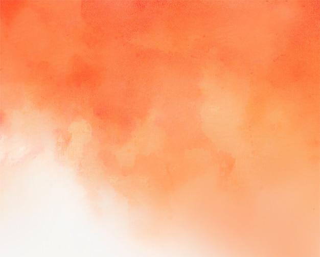 Fondo de textura de acuarela roja y naranja