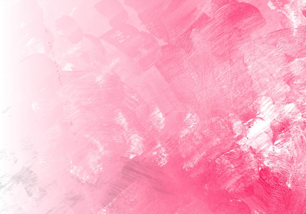 Fondo de textura de acuarela rosa abstracta