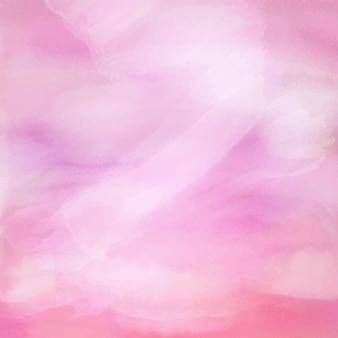 Fondo de textura de acuarela rosa pastel detallado