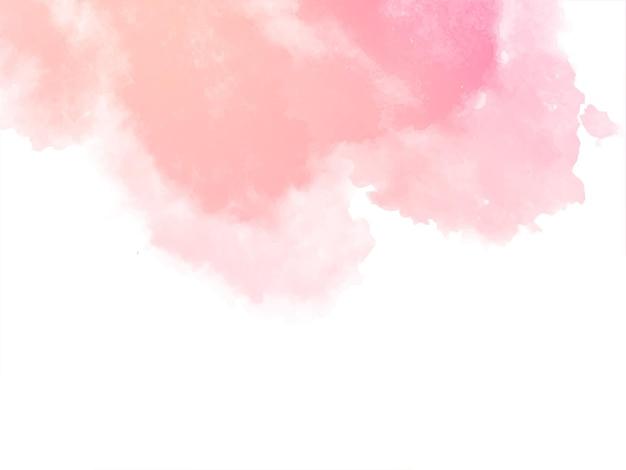 Fondo de textura de acuarela rosa suave decorativo