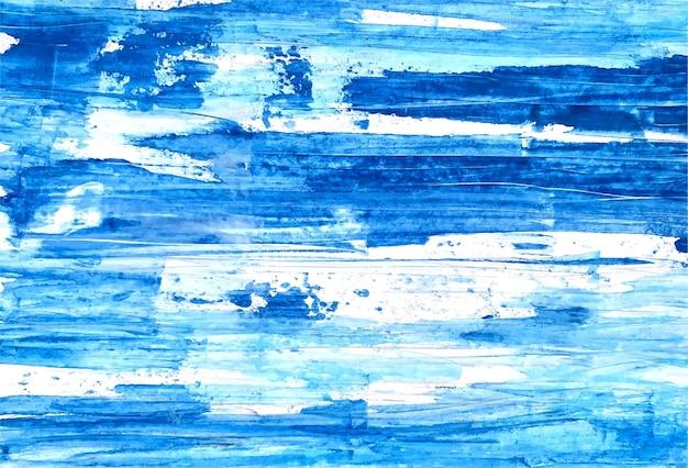 Fondo de textura de acuarela suave azul abstracto
