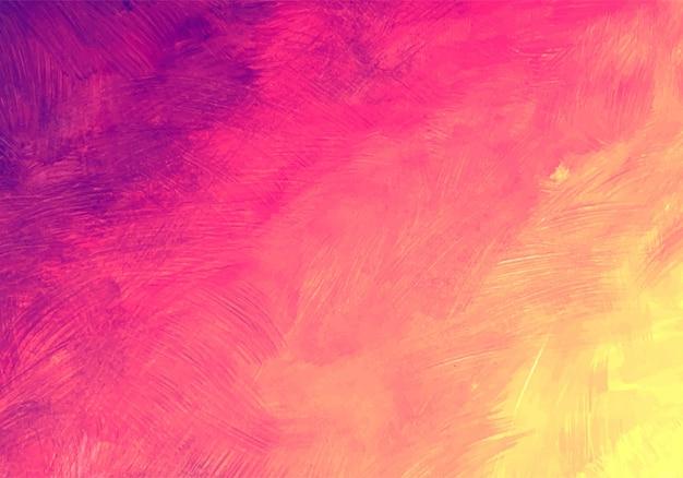 Fondo de textura de acuarela suave colorido abstracto