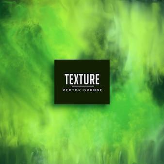 Fondo de textura de acuarela verde