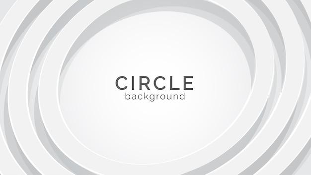 Fondo de textura blanca circular