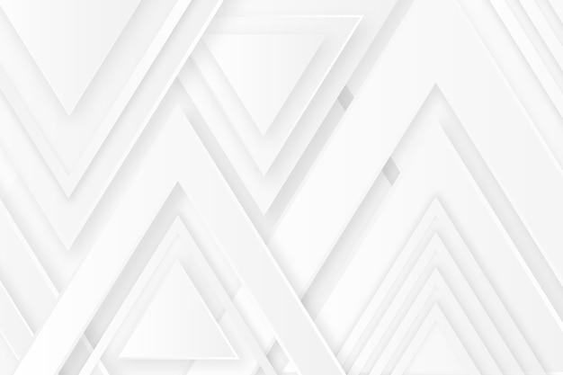 Fondo de textura blanca superior de flecha poligonal