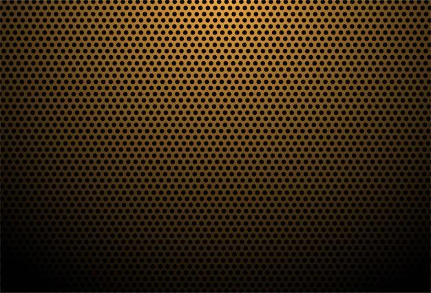 Fondo de textura de fibra de carbono naranja