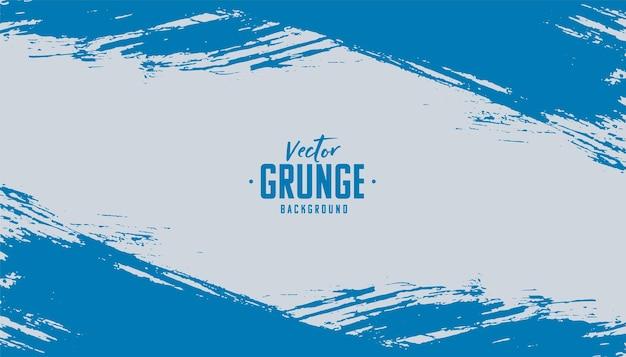 Fondo de textura grunge azul abstracto