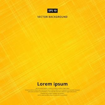 Fondo de textura de la ilustración vectorial de tela amarilla