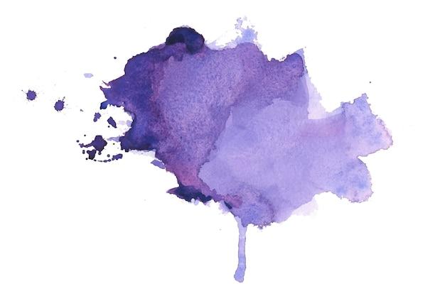 Fondo de textura de mancha de acuarela pintada a mano
