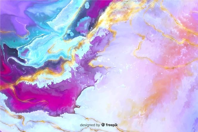 Fondo de textura de mármol con pintura