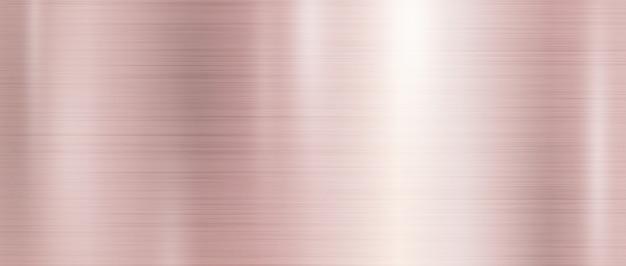 Fondo de textura de metal de oro rosa