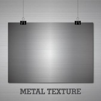 Fondo con textura metálica