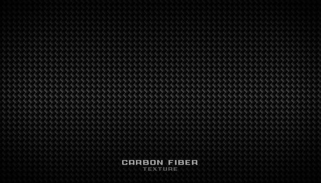 Fondo de textura de patrón de fibra de carbono negro