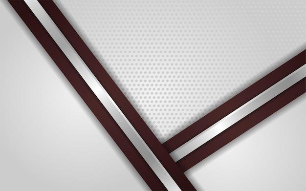 Fondo de textura de punto blanco abstracto con marrón degradado