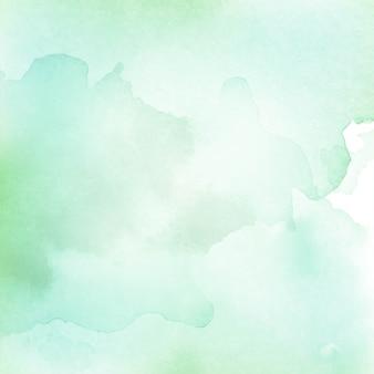 Fondo de textura verde claro acuarela abstracta