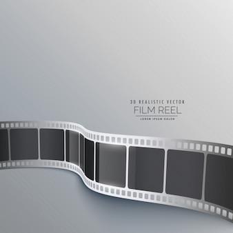 Fondo de tira de la película