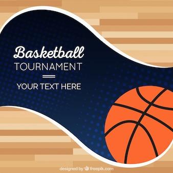 Fondo de torneo de baloncesto