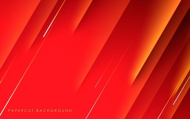 Fondo de tramo diagonal abstracto rojo
