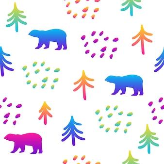 Fondo transparente de arco iris abstracto. muestra moderna para tarjeta de cumpleaños, invitación a fiesta infantil, papel tapiz de venta de tienda, papel de regalo navideño, tela, estampado de bolsa, camiseta, publicidad de taller