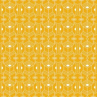 Fondo transparente de batik geométrico.