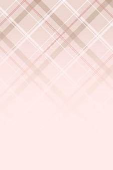 Fondo transparente de tartán rosa