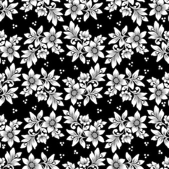 Fondo transparente de vector flor. textura elegante para fondos. adorno floral antiguo de lujo clásico, textura fluida para fondos de pantalla, textiles, envoltura.