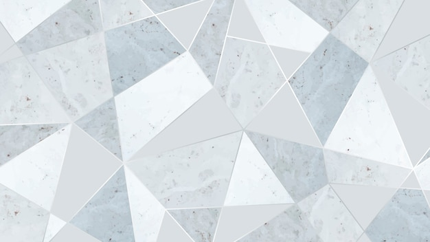 Fondo triangular gris simple