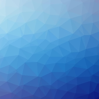 Fondo de triángulo azul patrón poligonal