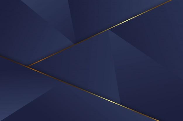 Fondo de triángulo de lujo