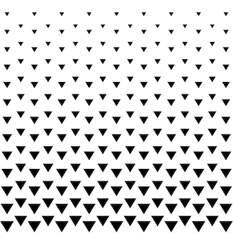 Fondo de triángulo de semitonos patrón abstracto