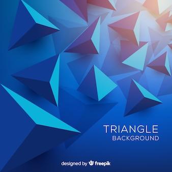 Fondo de triángulos
