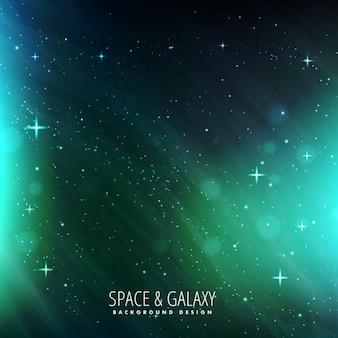 Fondo del universo y el espacio