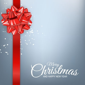 Fondo de vacaciones de año nuevo y feliz navidad.