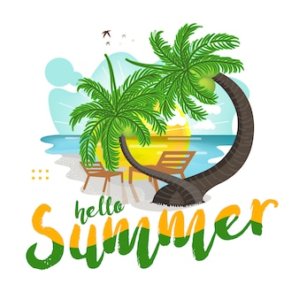 Fondo de vacaciones de verano