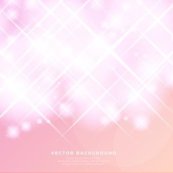 Fondo de vector abstracto brillo