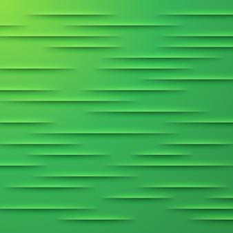 Fondo de vector abstracto con capas verdes