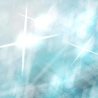 Fondo de vector abstracto, elementos de luces de colores