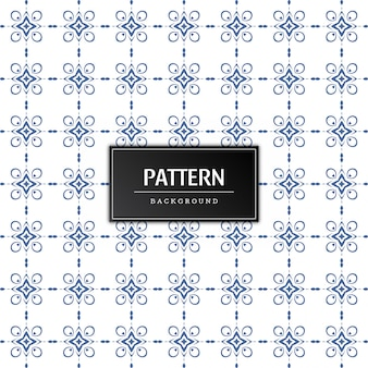 Fondo de vector abstracto hermoso patrón