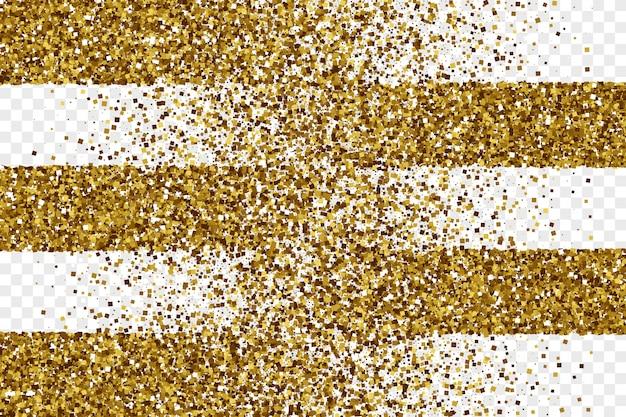 Fondo de vector abstracto de oro brillante oropel