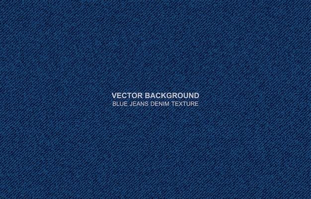 Fondo de vector blue jeans textura de mezclilla