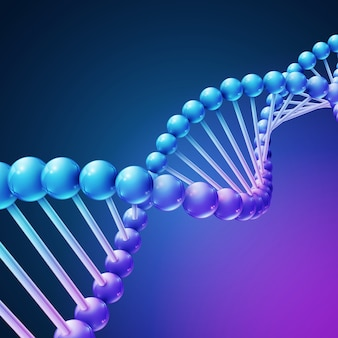Fondo de vector de ciencia médica de naturaleza digital
