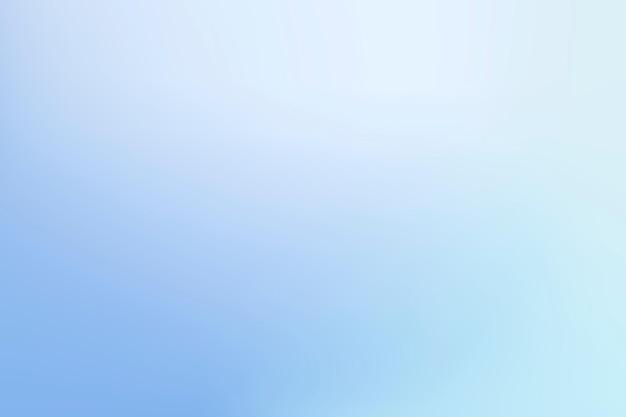 Fondo de vector degradado azul claro de invierno